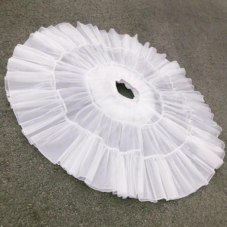 パニエ ロリータ ゴスロリ60cm 日常 ワイヤーなし ウェディング コスプレ バレエ ダンス レディース