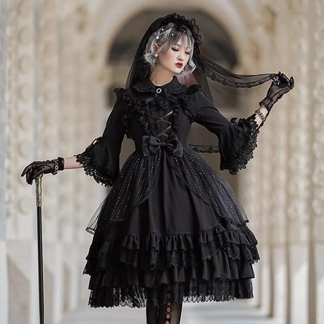 ロリータ ドレス キャミソール ワンピース ウェディング 花嫁 衣装 レディース 日常  姫