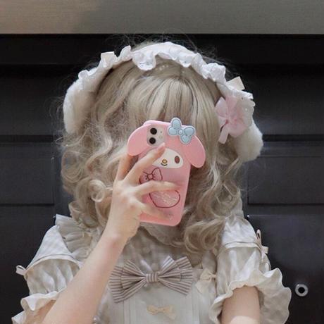 ロリータ レディース ロリィタ 甘ロリ アリス  チェック柄 メイド 可愛い  ヘアバンド
