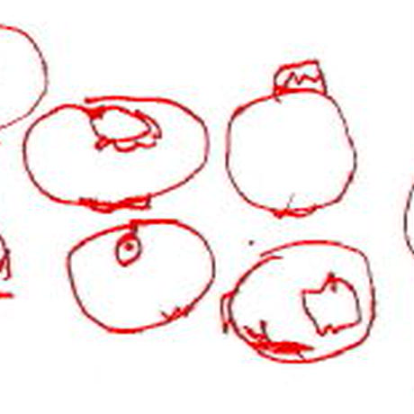 桃とブルーベリー 100g Peche&Myrtille