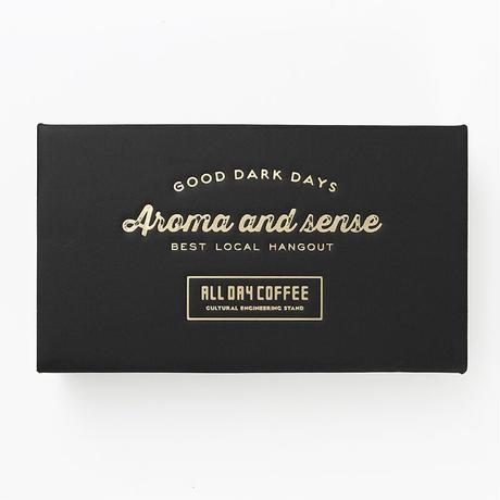 ALL DAY COFFEE GIFT BOXコーヒー豆 200g×1 コーヒーミルクベース×1