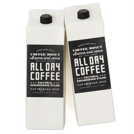 ALL DAY COFFEE GIFT BOX ミルクコーヒーベース×2