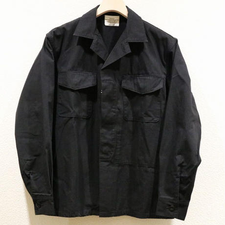 WORKERS【FatigueShirt】Black Cotton CorduraNylon Ripstop