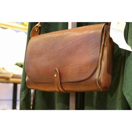 VASCO 【LEATHER 3WAY CLUTCH BAG 】Brown