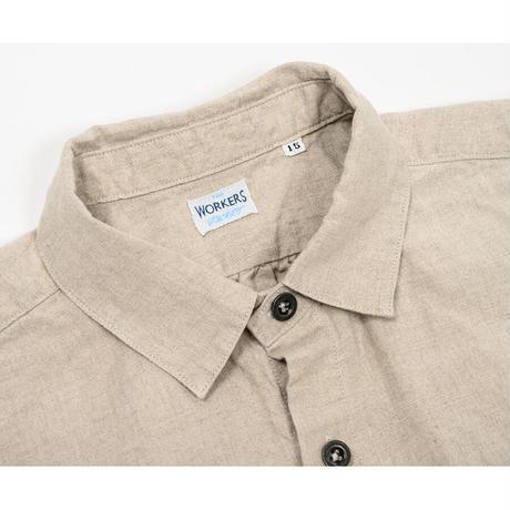WORKERS【 Linen Shirt 】