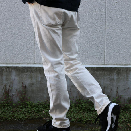WORKERS【Lot 802 Slim Tapered 】WHITE