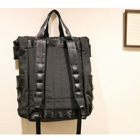 DEFY BAG / デフィバッグ【 New VerBockel Rolltop Backpack】CorduraNylon / NAVY