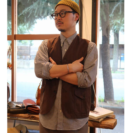 WORKERS【 CRUISER VEST 】BrownDuck Size.40
