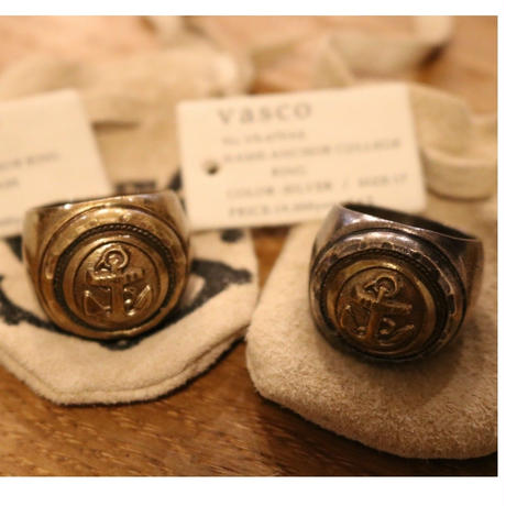 VASCO  VS-670AB 「ANCHORCOLLEGERING」BRASS