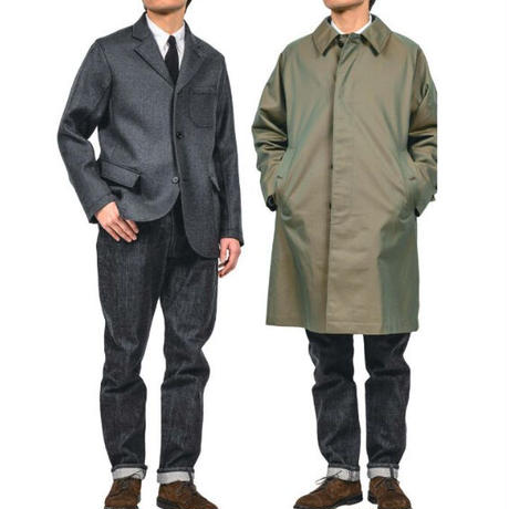 WORKERS【LoungeJacket】Dominx double cloth
