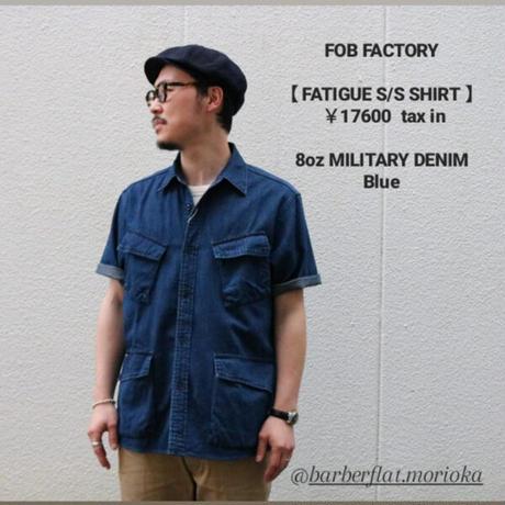 FOBFACTORY【FATIGUE S/S SHIRT】
