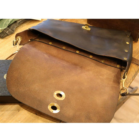 VASCO【 LEATHER 3WAYS SADDLE BAG 】
