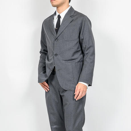 WORKERS 【Officer Trosuers, Slim, Type 1, Wool Mohair Tropical】   Grey ,Khaki ,Navy