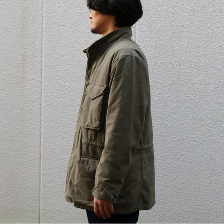 WORKERS【 M-65 Mod 】NYCO ReversedSateen OD / CottonCorduraNylonRipstop BLACK