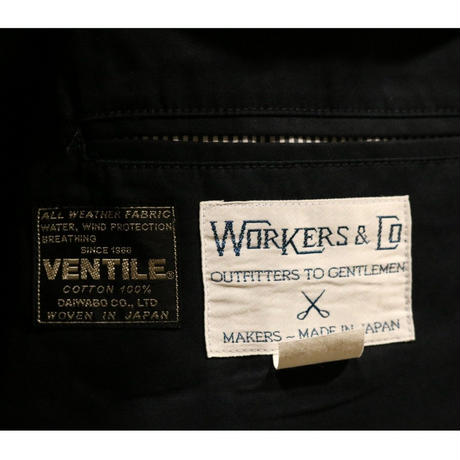 WORKERS【LoungeJacket】VentileTwill