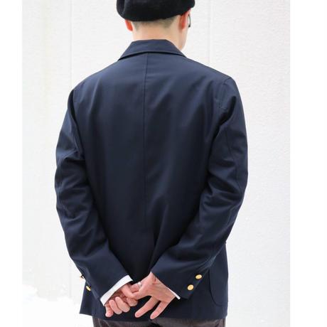 WORKERS【Blazer】DarkNavy WoolTropical , GoldButton Size.38