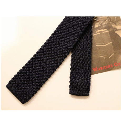 WORKERS 【SILK KNIT TIE】