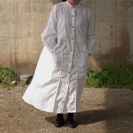 "shirt dress ""GRACE "" /white"