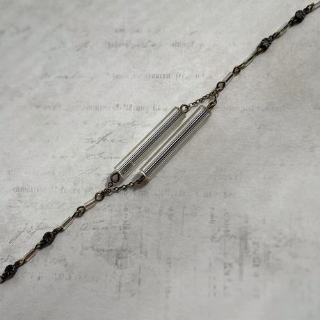 ヴェネチア製クリアビーズのブレスレット