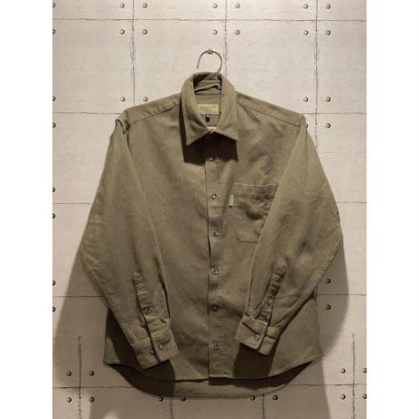 Whole Earth correction / shirt / M ホールアース・コレクション シャツ used 古着