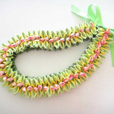 Spring Lily Lei*Father's Day Kit*