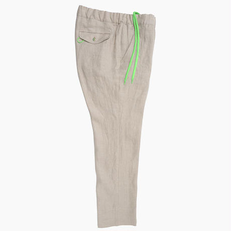 SREFAOL / Linen Easy Pants (BEIGE) / Made in U.S.A.