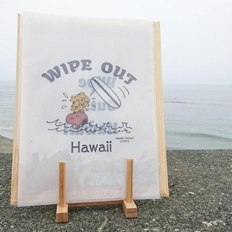 moni 日焼けスヌーピー クリアファイル(surf)