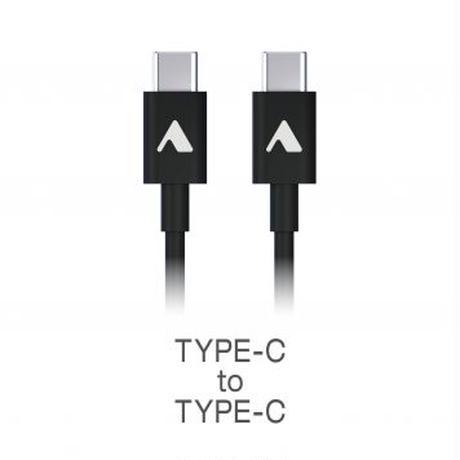 TYPE-C to TYPE-C充電ケーブルCAC-M100