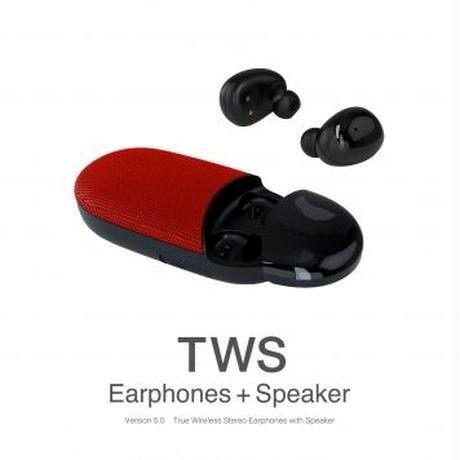Bluetooth完全ワイヤレス+スピーカー(2WAY)
