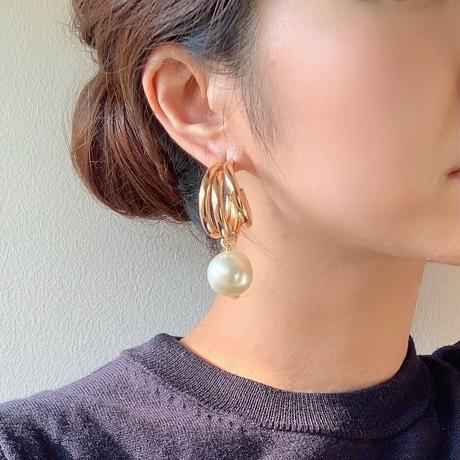 【Hand-made】The triple pierces #34
