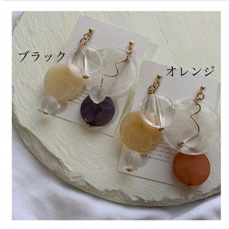 【Hand-made】 The art pierces / earrings #29