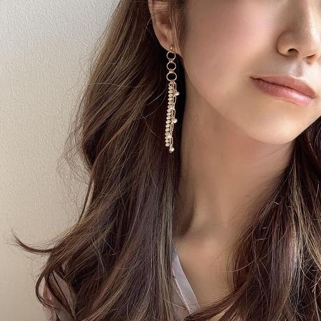 【Hand-made】The shine pierces/earrings #19