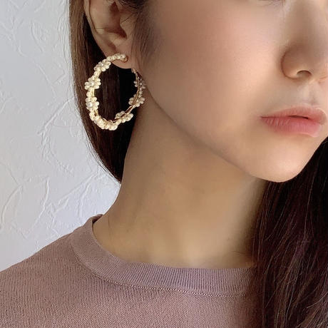 【Hand-made】The florets pierces/earrings #23
