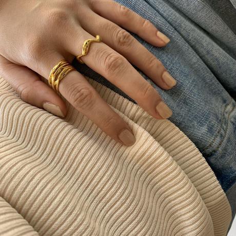 【Silver925】The snake ring #218