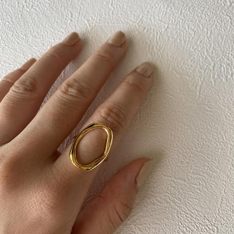 【Silver925】The oval ring #214