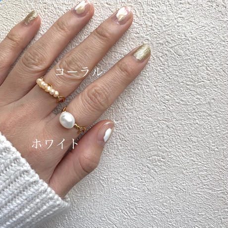 【Hand-made】The mermaid ring #105