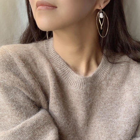 【Hand-made】 Saturn pierces/earrings #298