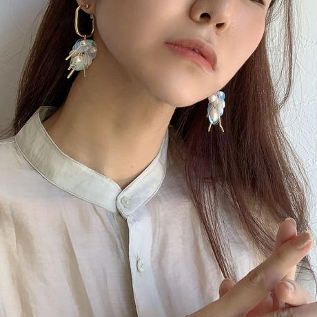【Hand-made】The jellyfish  pierces/earrings #26