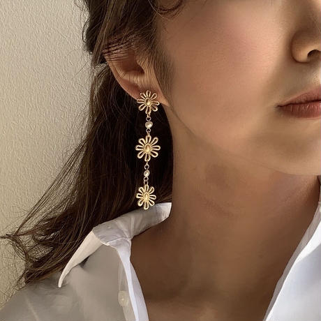 【Hand-made】The daisy pierces #16