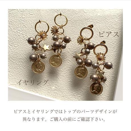 【Hand-made】Charm pierces/earrings #22
