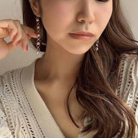 【Hand-made】Aurora pierces/earrings #4