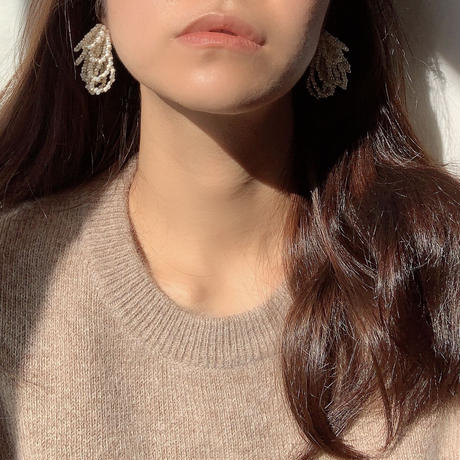 【Hand-made】The chandelier luxe pierces / earrings #232