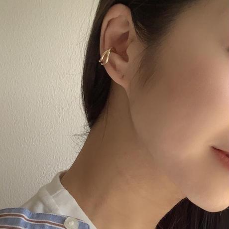 【Hand-made】Ear-cuff (twin-wave) #504