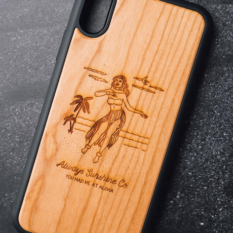 Wood iPhone Covers / You Had Me At Aloha