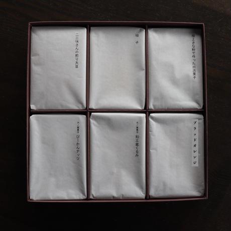糖 果 子 6 種 【進物用】