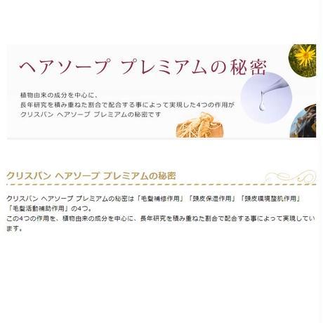 【定期便】クリスバン ヘアソープ プレミアム 400ml 1本【送料込】 (40040-03)