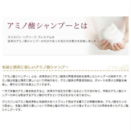 【定期便】クリスバン ヘアソープ プレミアム 400ml 2本 【送料込】 (40040-04)