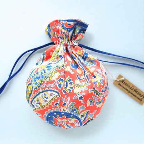 リバティキャンディ巾着・グレートミセンデン・オレンジ