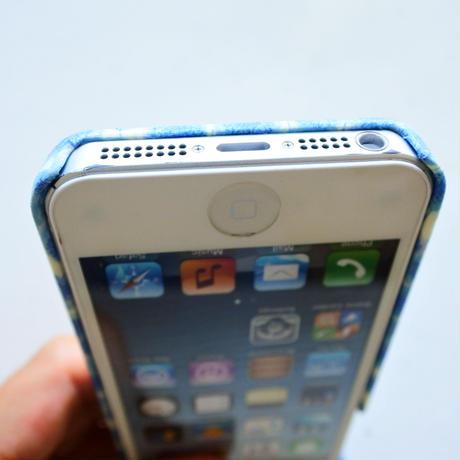 iPhoneSE/5sケース/ザンジーサンビーム・パステルブルー