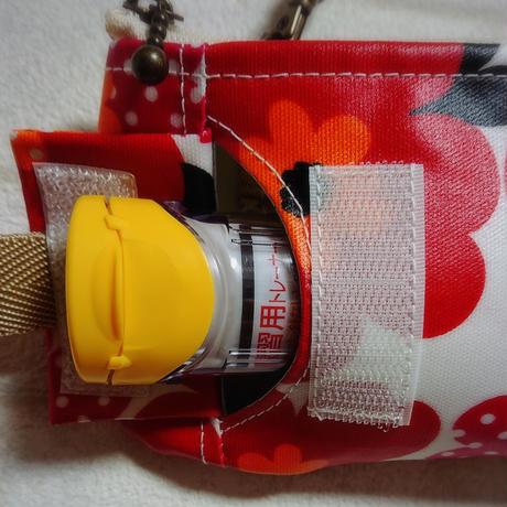ひょっこりエピペン用ポーチ薄型ペンポーチタイプ・北欧花柄【No.200815】